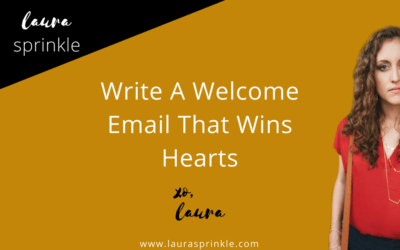 Write A Welcome Email That Wins Hearts