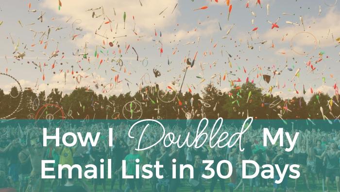 Doubled List Blog - Laura Sprinkle