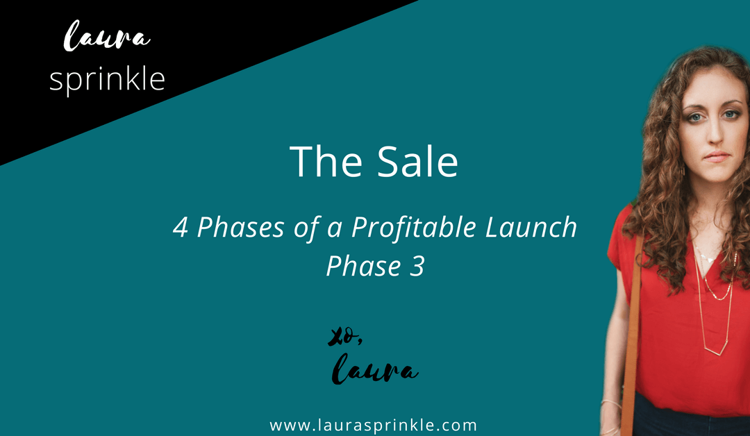 Profitable Launch Phase 3: The Sale