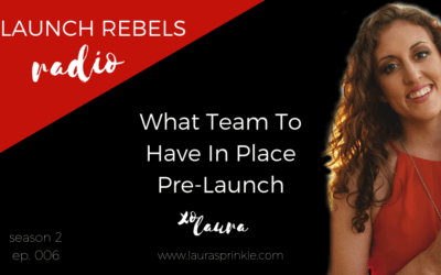 S2 Ep. 006: What Team To Have In Place Pre-Launch