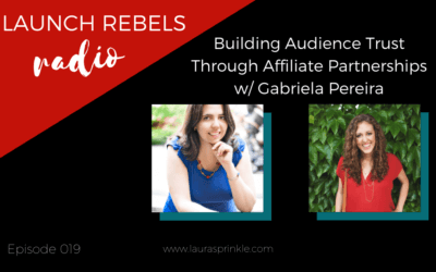 Episode 019: Building Audience Trust Through Affiliate Partnerships with Gabriela Pereira