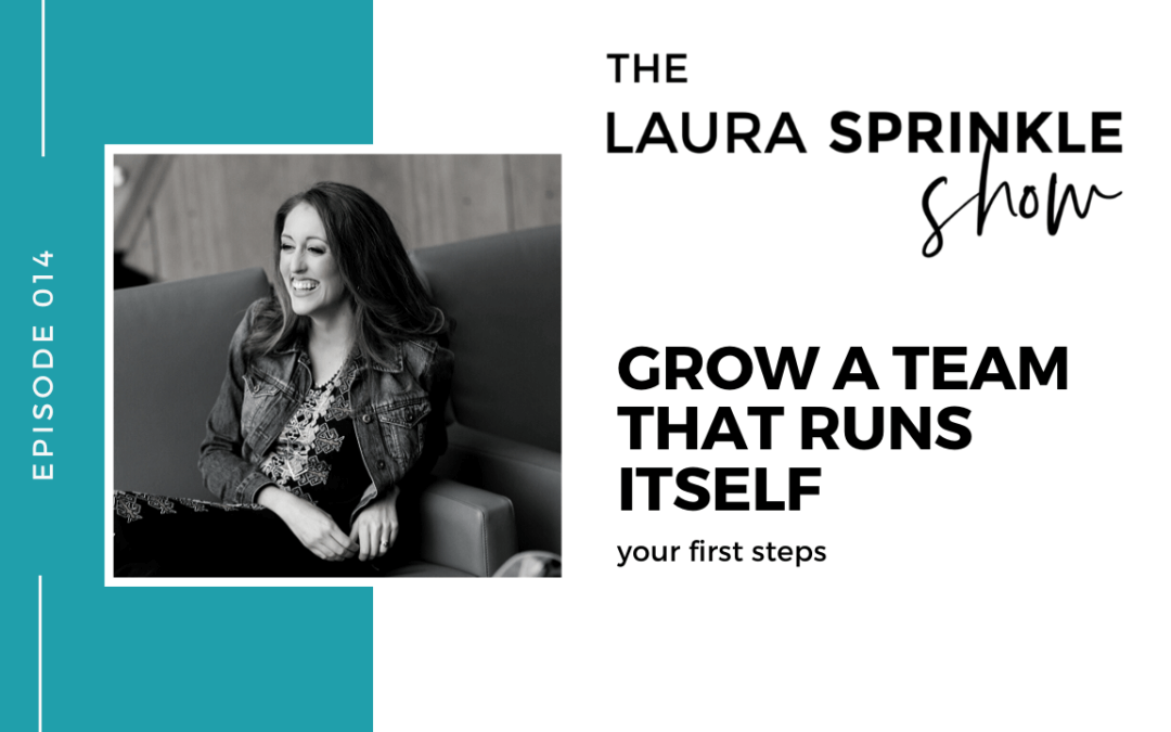 Episode 014: Your First Steps to Growing a Team That Runs Itself: Your First Steps